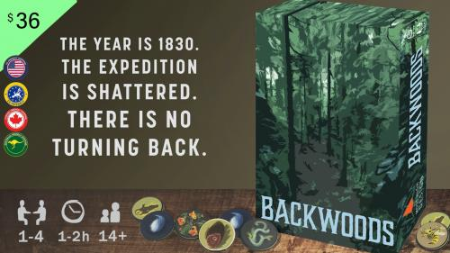 Backwoods: Cooperative Survival Adventure