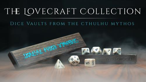 The Wyrmwood Dice Vault: Cthulhu Mythos Edition