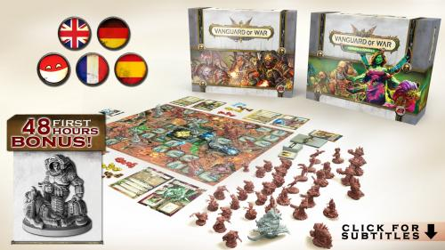 Vanguard of War - Tower Defense boardgame with zombies!