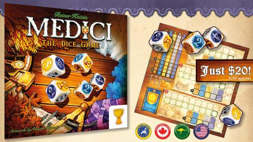 Medici: The Dice Game - Knizia s Medici Family Expands!