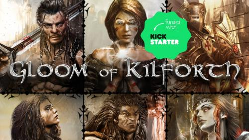 Gloom of Kilforth: A Fantasy Quest Game, 1-4 heroes, 1-3 hrs