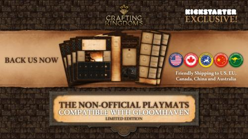 The Non-Official Playmats compatible with Gloomhaven