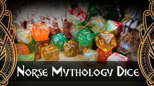 Norse mythology dice - by Lindorm Dice