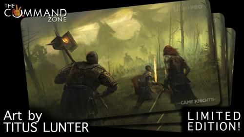 """Last Stand"" - LIMITED Edition Game Knights Playmat"