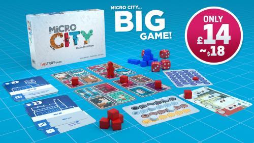 Micro City - Pocket Sized Citybuilding Game