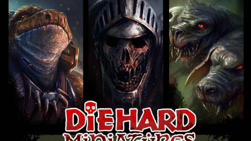 Diehard Miniatures: Fantasy Miniatures