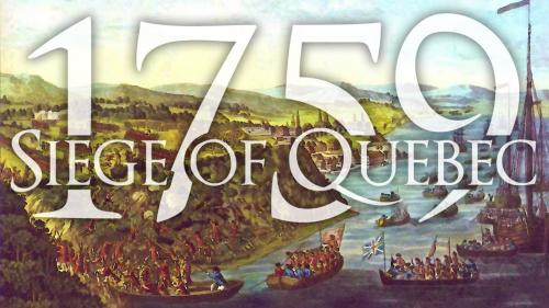 1759 Siege of Quebec 1 to 2 Player Game