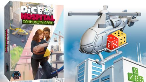 Dice Hospital Community Care 3 expansions for Dice Hospital