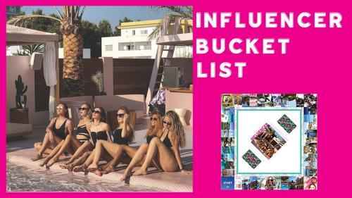 Influencer Bucket List