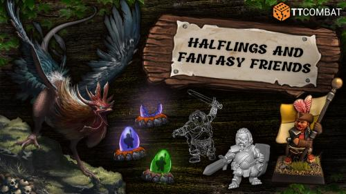 Halflings and fantasy friends!