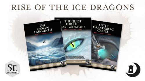 Rise of the Ice Dragons Trilogy: A Book of Adventures for 5e