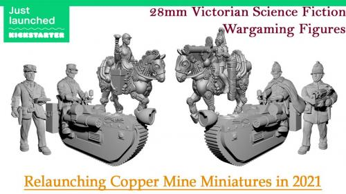 28mm Victorian Science Fiction ( VSF ) Wargaming Figures