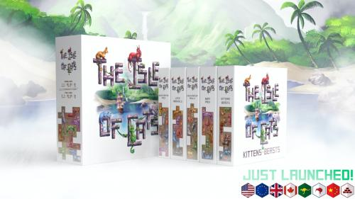 The Isle of Cats: Don t forget the kittens!