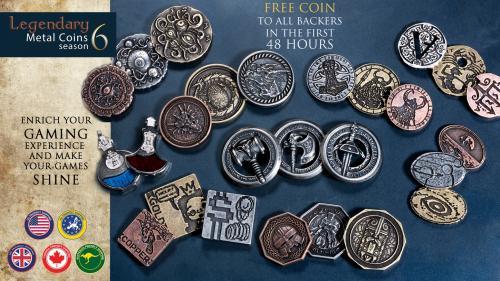 Legendary Metal Coins season 6